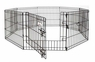 Petmate Exercise Pen With Door 42x24 8-panels 1pk