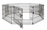 Petmate Exercise Pen With Door 48x24 8-panels 1pk