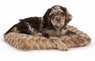 Petmate Plush Kennel Mat for Pets, 16 by 9-Inch
