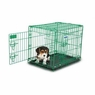Petmate Puppy 2 Door Training Retreat 24in Green