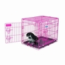 Petmate Puppy 2-Door Training Retreat 24in Pink