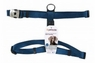 Petmate Signature Deluxe Adjustable Harness Blue 1In X 28-36In