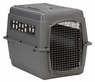 Petmate Sky Kennel for Pets from 50 to 70-Pound, Light Gray