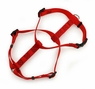 Petmate Standard Nylon Dog Harness Red 3/4 X 20-28in