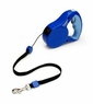 Petmate Walkabout Corded Retractable Leash Blue Small