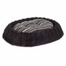 Petmate Willow Wicker Oval Bed with Pillow, 24 by 18-Inch
