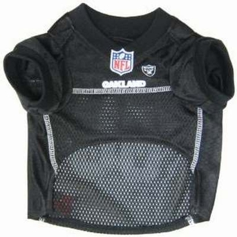 Pets First NFL Oakland Raiders Jersey Apparel for Pets, X-large