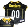 Pittsburgh Steelers NFL Dog Jersey - Large