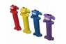Multipet Loofa Latex Assorted Colors 6in