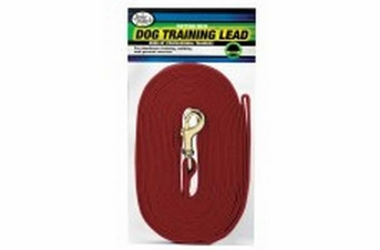 Four Paws Cotton Web Lead Red 6ft