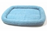 Precision Snoozzy 2000 Sheepskin Bumper Bed Blue 25x20in