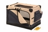 Precision 5000 Soft Side Pet Crate Navy Tan 42X28X27