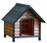 Precision Extreme Outback Country Lodge Dog House Brown/Black Large 30x35x32