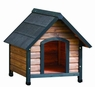 Precision Extreme Outback Country Lodge Dog House Brown/Black Medium 28x30x30