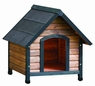 Precision Extreme Outback Country Lodge Dog House Brown/Black Small 28x30x30