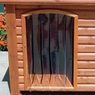 Precision Outback Dog House Door Medium/Large 25X14.5 inch