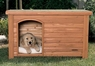 Precision Outback Log Cabin Dog House Large 45X33X33