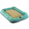 Precision Pet 2000 SnooZZy Mod Chic Low Bumper Crate Mat, 25 by 20-Inch, Ocean Wave Aqua