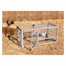 Precision Pet Chicken Coop Extension Pen, 55.12 by 27.36 by 27.56-Inch