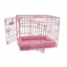 Precision Pet SnooZZy 30 by 19 by 21-Inch 2-Door Baby Crate, Size 3000, Pink