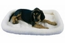 Precision Snoozzy Orig Fleece Crate Bumper Bed 18X14