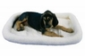 Precision Snoozzy Orig Fleece Crate Bumper Bed 25X20