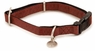 Premier Bark Avenue Quick Snap Collar Large 1in Cranberry