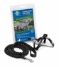 Premier Come With Me Kitty Harness & Bungee Leash Medium Black