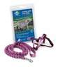 Premier Come With Me Kitty Harness & Bungee Leash Medium Dusty Rose