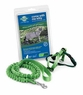 Premier Come With Me Kitty Harness & Bungee Leash Medium Electric Lime