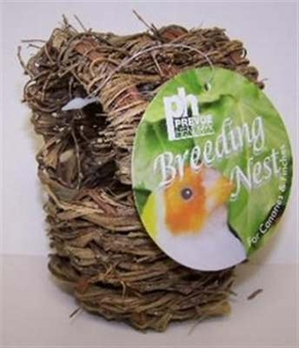 Prevue Pet Products BPV1152 Natural Fiber Parakeet Covered Twig Nest, Large