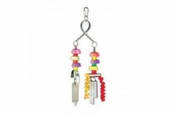Prevue Pet Products Chime Time Typhoon Bird Toy