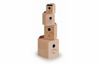 Prevue Pet Products Medium Inside Lovebird Nest Box