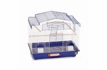 Prevue Pet Products Pre-Packed Barn Style Parakeet Cockatiel Cages 2pc