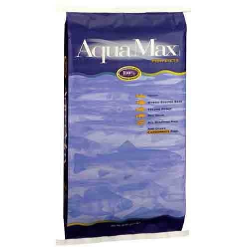 Purina mills fish chows aquamax grower for Purina tropical fish food