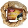 "Rawhide Brand� 8"" Braided Rawhide Rings for Large Dogs, Single & Twin Packs"