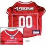 San Francisco 49ers NFL Dog Jersey - Large