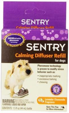 SERGEANT'S 484246 Sentry Calming Diffuser for Refill for Dogs, 1.5-Ounce