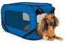 SportPet Pop Open Kennel Small Blue