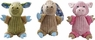 Spot Corduroy Plush Barnyard Assorted 9in