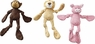 Spot Corduroy Plush W/Knots Assorted 15in