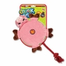 SqueakGrrrs Pig Flyer Squeak Toy for Dogs