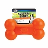 Squeaky Bones Rubber Toy