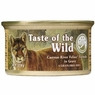 Taste Of The Wild Feline - Can Canyon River Feline - Trout And Smoked Salmon, 24 Pack Of 3 Oz Case