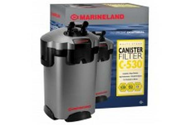 Freshmarine offers marineland multi stage canister filter for Pond canister filter