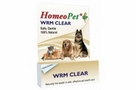 HomeoPet Wrm Clear bottle 15ml