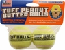 Tuff Balls Peanut Butter Flavored Dog Toys (2 Pack)