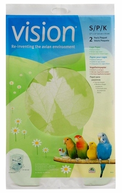 "Vision Bird Cage Paper, Small 17"" x 13"", From Hagen"