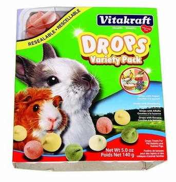 VitaKraft Variety Pack Drops for Small Animals: 5 oz