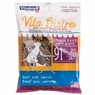 Vitakraft Vita Bistro Sausages Dog Treats, Mini, Beef with Carrot, 3.5oz